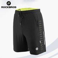 Rockbros Sports Laufende Shorts Männer Frauen Kleidung Training Shorts Gym Sport Kurze Hosen Tennis Basketball Fußball Training Shorts Y200901