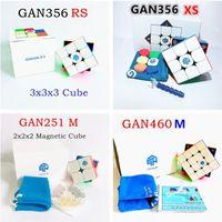 Gan 356 xs 2x2 3x3 4x4 pirámide cubo magnético gan rs 460m 251m Puzzle juego profesional para adultos niños antiestress velocidad cubo 201226