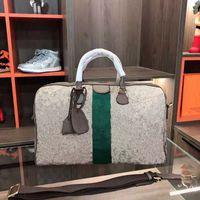 حمل على الكل 45 سم المرأة حقيبة سفر الرجال الكلاسيكية duffel duffel duffle أكياس المتداول softxed حقيبة الأمتعة مجموعة حقيبة يد للجنسين