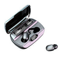 TWS Bluetooth 5.1 무선 이어 버드 헤드폰 이어폰 8D 스테레오 무선 이어폰 터치 컨트롤 헤드셋 자동 연결