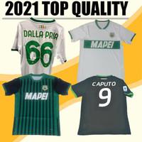 Neue 2021 Sassuolo Soccer-Jerseys 100. Hundertjähriger Berardi Boga Locatelli 2020 2021 Zuhause Maglietta Calcio TRAORE Football Shirts Thailand
