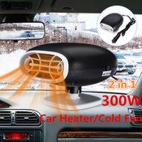 Audew coche Calentadores universales 12V 300W del interior del coche calefacción accesorios Ventilador Calentadores Ventana niebla Remover