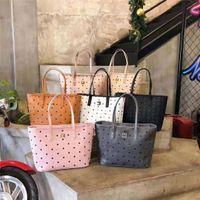 Diseño del diseñador Bolsa de compras clásica de alta calidad, pareja de la bolsa de compras de la madre y el hijo de la flor, la bolsa pequeña usada sola.