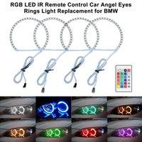 Multi-Color RGB-Fernbedienung Auto Angel Eyes Kreis Scheinwerferlampe Tagfahrlicht (DRL) Ersatz für E36 E39