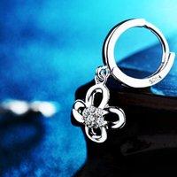 Hoop Huggie Bebe Ronde Loop Oorbel met hoge kwaliteit Tiny + CZ Kleine 13mm Oorbellen Crystal Dangle voor Dames Sieraden Groothandel1