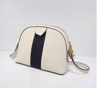 chaud! marque de mode dame Les sacs à main de sac à main sacs crossbody de haute qualité lettre couture sac shell sac à bandoulière rayé sans achats W12