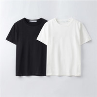 Summer Femmes Designer Mens T-shirt Casual Sleeve Sleeve Coton Mode Mode T-shirt avec lettre de marque Broderie -XFJ