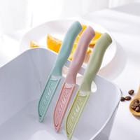 Qualitäts-Minikeramikmesser Plastikhandgriff Küchenmesser Sharp Obst Schälmesser Home Bestecke Küchenwerkzeug-Zubehör DBC VT0379