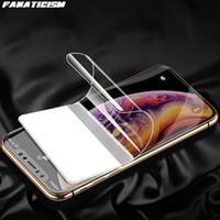 Tam Kapak Hidrojel Filmi Için iphone 12 Pro Max 12Pro Darbeye Koruyucu Film iphone 12mini Temizle Ekran Koruyucu