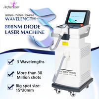 Máquina de laser do cabelo do diodo 808 para a remoção permanente do cabelo do depilador apropriada para todos os tipos da pele