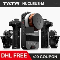 Tilta Nucleus-M Беспроводная Следуйте Focus Nucleus Пленка DSLR Видеокамера Линнс Дистанционная система дистанционного управления для 3-осевой Gimbal Red DJI Ronin1