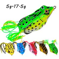 8 Color Mixed 5g-17.5g Frog Hook Fishing Hooks Fishhooks Soft Baits & Lures Pesca Fishing Tackle F37-K001