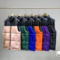 Nueva Moda Chaqueta de invierno Hombres Chaleco de los hombres Parejas Down Chaleco Down Chaqueta Parka Outerwear Multicolor Tamaño S-2XL