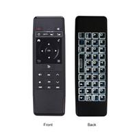 Neueste 2-in-1-Fernbedienung HCY-63A 2,4-GHz-Wireless-Air Mouse 6-Achsen-IR-Lern Tastatur Rechargable für Android TV BOX PC