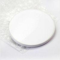 9CM التسامي فارغة كوستر السيراميك الأبيض السيراميك نقل الحرارة الطباعة الوقايات كأس مخصص بساط الوسادة الحرارية الوقايات SEASHIPPING LJJP762