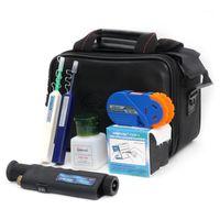 Faseroptikausrüstung 8 in 1 Orientek TCI-8E FTTH Tool Kit Inspektionsmikroskop + optischer Leistungszähler + VfL + Cleaner Cassette FedEx