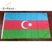 Aserbaidschan Nationale Land Flagge 3 * 5ft (90 cm * 150 cm) Polyester Banner Dekoration Fliegen Home Gartenflagge