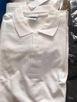 Lacoste Hot alta qualidade Crocodile Polo Homens Sólidos Algodão Shorts Polo Verão Polo Homme Mens T-Shirts Pólos Camisas Poloshirt JD07