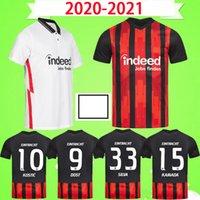 2020 Eintracht فرانكفورت كوستيش لكرة القدم الفانيلة Jovic 20 21 فرانكفورت الرئيسية Kamada فرنانديز دي Guzman بعيدا سيلفا الرجال الاطفال كرة القدم