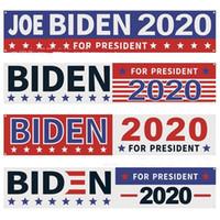 250 * 48cm USA Banner 2020 Joe Biden für Präsidenten Einseitiger Druck Flagge Beliebte Amerika General Election Lange Flags 14 8BY G2