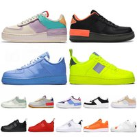 off white Schuhe nike air force 1 One af1 shadow Top Fashion Platform Sneakers Damen Herren Laufschuhe Tropical Twist Black MCA University Blue Utility Trainer