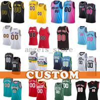 Los Custom Angeles Basketball Jersey 2021 Neue Retro Mesh Herren Jerseys Dennis 17 Schroder Avery 11 Bradley Coby 0 Weiß Marc 14 Gasol