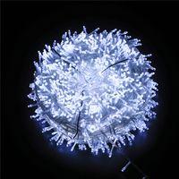 Noël LED chaîne complète d'étoile 220 V fil de cuivre étoile lumières éclairage vacances lanterne Noël en plein air HHB2391