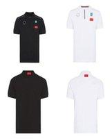 F1 Racing Fans a maniche corte Polo Summer Summer Off-Road Moto Velocità Arrendosi Team Asciugatura rapida Abbigliamento auto Cultura Cultura Tuta Logo può essere personalizzato