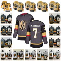 2021 Gold Dritter Vegas Goldene Knights 7 Alex Pietrangelo Hockey Jersey 29 Marc-Andre Fleury 61 Mark Stone 71 William Karlsson 75 Ryan Refres