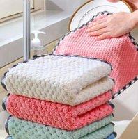 Wiederverwendbare Reinigungstuch Superabsorbierende Antihaft-Öl-Dreck-Handtuch Home Küche Öl und Staub sauber Wischen Lappen Kitchen Supplies PPC5561