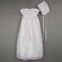 Yatheen Baby Girls Newborn-24Months Lace Chirstening Gowns Q1223