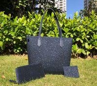럭셔리 디자이너 가방 여성 큰 반짝이 크로스 바디 + 지갑 + 카드 홀더 세트 반짝이 가족 큰 어깨 가방 지갑 핸드백