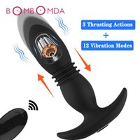 Anal vibratör vibratör erkek prostat masajı kablosuz uzaktan kumanda yapay penis buplug anal erkekler için anal seks oyuncakları