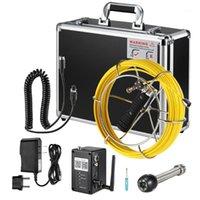 Fischfinder 7 zoll Wireless WiFi 20/30 / 40m Rohrinspektion Kamera Ablauf Abwasserleitung Pipeline Industrielles Endoskop mit Meter Marking1