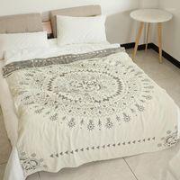 Sugan Life 100% хлопок Муслин одеяло кровать диван путешествия дышащий шикарный мандала большой мягкий бросок одеяло Para1