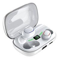 T11 TWS Cuffie wireless Bluetooth 5.0 Auricolari in-ear 3300mAh Charging Bin Auricolari stereo IPX7 Sport Auricolare impermeabile per telefono caldo