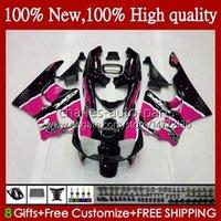 Lichaam voor HONDA CBR 893RR 900RR CBR893RR 94 95 96 97 95HC.24 CBR893 CBR900 CBR 900 893 RR Pink Black CBR900RR 1994 1995 1996 1997 Verkortingen