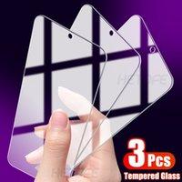 مل 3pcs الزجاج المقسى لXIAOMI مي 8 9 SE 9T شاشة حامي XIAOMI مي 10 9 8 لايت 6 6X 5X X3 NFC F2 F1 برو زجاج التغطية الكاملة
