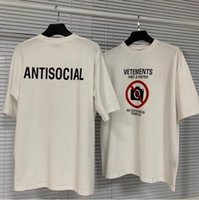 21SS Europa Frankreich Shop Stickerei Tshirt Mode Herren T Shirts Frauen Kleidung Freizeit Baumwolle T-Stück