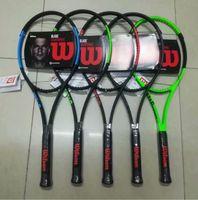 Hersteller Großhandel Freies Verschiffenschläger Raquete de Kohlefaser-Top-Material-Tennis 201116