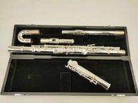 Muramatsu Alto Flute G TUNE 16 Закрытые ключей отверстия Щежил щелкнутый Профессиональный музыкальный инструмент с корпусом Бесплатная доставка
