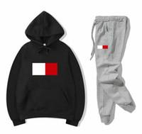 Moda Tasarımcısı Rahat Eşofman Erkekler Ter Suits Erkek Jogger Suits Unisex Ceket Hoodie + Pantolon Setleri Spor Kadınlar Suit Hip Hop Setleri
