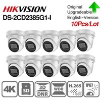 Pre-Sale Hikvision Original-IP-Kamera DS-2CD2385G1-I 8MP Netz CCTV-Kamera-H.265 CCTV-POE WDR SD-Kartensteckplatz 10pcs / lot