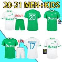 2021 Kit adulto como santos-etienne jerseys khazri bouanga mens maillot 20 21 asse st etienne aholou camisas de futebol