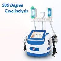Taşınabilir 360 Kriyo Cilt Cryolipolysis Selülit Azaltma Sistemi 7 Kolları Kriyo Kavitasyon Zayıflama Makinesi Lipo Lazer Yağ Çıkarma