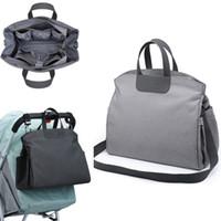 2019 Diaper Bag for Mom Nappy Shoudler Messenger Bags Mother Travel Luiertas Stroller Baby Infant Organizer Nursing to care C1008