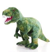 Hot Huggable Dinosaur Peluche Giocattoli del fumetto Simulazione del fumetto Tyrannosaurus Carino Giocattolo ripieno Bambole per bambini Bambini Ragazzi Regalo di compleanno LJ201126