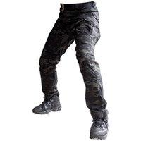 Sektör Yedi IX2 Askeri Çok Cepler Kargo Pantolon Koyu Kamuflaj Düzenli Taktik Pantolon Aktif Erkek Pantolon 201110