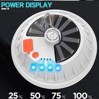 30000 LM برايت ألترا الشمسية LED لمبات قابلة للشحن 5 طرق العمل الخفيفة للتخييم في الهواء الطلق مصباح الناتج USB كبنك الطاقة