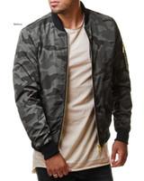 Automne Casual Men's Camo Jacket Camo Camouflage Armée Manteaux Mâle Vêtements de dessus Vêtements De Vêtements De Vêtements De Voiture Plus Taille 7XL